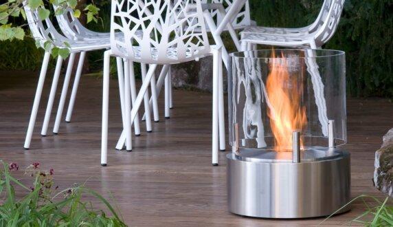 Chelsea Flower Show - Glow Braseros éthanol by EcoSmart Fire