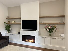 Flex 122SS.BXL Simple face - In-Situ Image by EcoSmart Fire