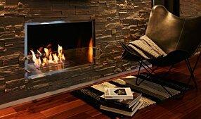 Private Residence - Firebox 1000SS Inserts de cheminée by EcoSmart Fire