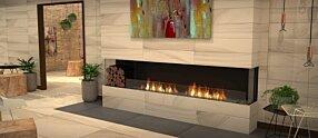 Lounge Area - Flex 104BY.BXL Inserts de cheminée by EcoSmart Fire