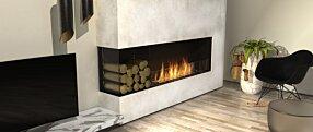 Living Room - Flex 68LC.BXL Série Flex by EcoSmart Fire