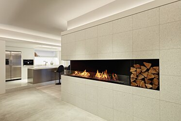 Flex 68LC Angle gauche - In-Situ Image by EcoSmart Fire