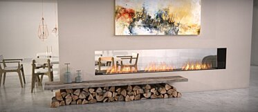 Flex 122DB Double face - In-Situ Image by EcoSmart Fire