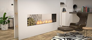 Flex 86DB.BX1 Double face - In-Situ Image by EcoSmart Fire