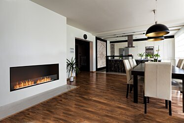 Flex 86SS Simple face - In-Situ Image by EcoSmart Fire