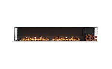 Flex 122BY.BXR Baie (trois faces) - Studio Image by EcoSmart Fire