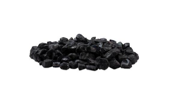 Black Glass Charcoal Accessoires décoratif - Black by EcoSmart Fire