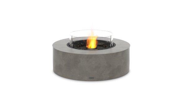 Ark 40 Tables extérieure - Ethanol - Black / Natural / Optional Fire Screen by EcoSmart Fire