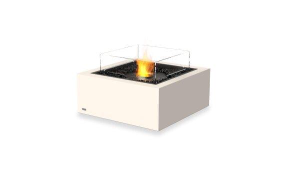 Base 30 Tables extérieure - Ethanol - Black / Bone / Optional Fire Screen by EcoSmart Fire