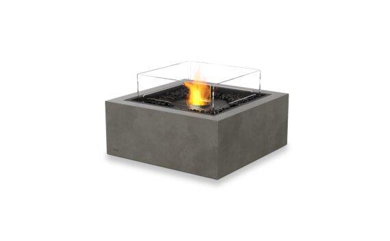 Base 30 Tables extérieure - Ethanol - Black / Natural / Optional Fire Screen by EcoSmart Fire