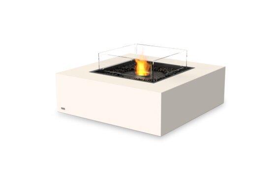Base 40 Tables extérieure - Ethanol - Black / Bone / Optional Fire Screen by EcoSmart Fire