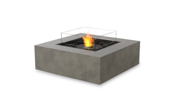 Base 40 Tables extérieure - Ethanol - Black / Natural / Optional Fire Screen by EcoSmart Fire