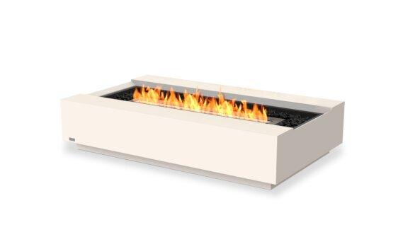 Cosmo 50 Tables extérieure - Ethanol - Black / Bone by EcoSmart Fire