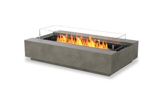 Cosmo 50 Tables extérieure - Ethanol - Black / Natural / Optional Fire Screen by EcoSmart Fire