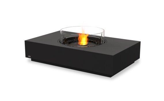 Martini 50 Tables extérieure - Ethanol - Black / Graphite / Optional Fire Screen by EcoSmart Fire