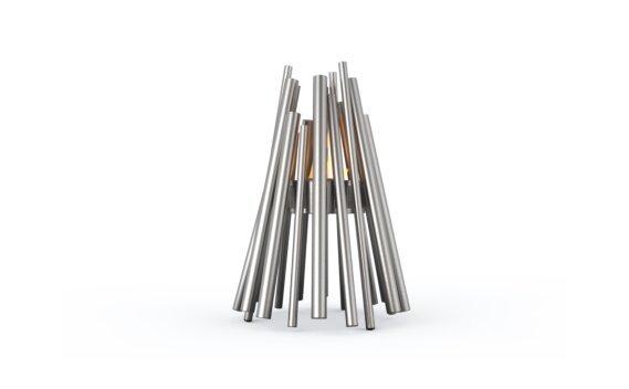 Stix Braseros éthanol - Ethanol - Black / Stainless Steel by EcoSmart Fire