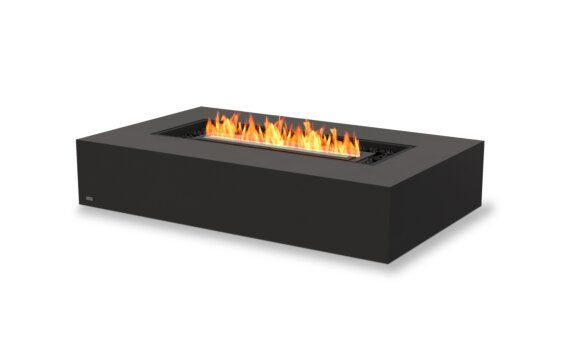 Wharf 65 Tables extérieure - Ethanol - Black / Graphite by EcoSmart Fire