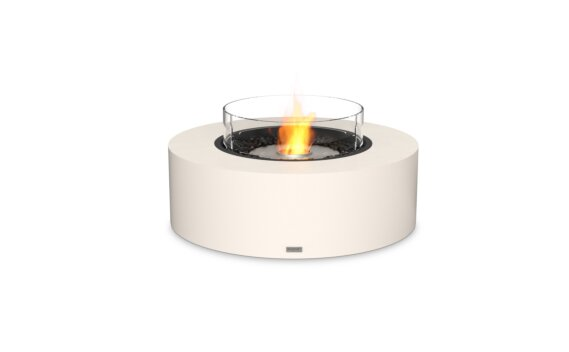 Ark 40 Tables extérieure - Ethanol / Bone / Optional Fire Screen by EcoSmart Fire