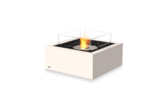 Base 30 Tables extérieure - Ethanol / Bone / Optional Fire Screen by EcoSmart Fire