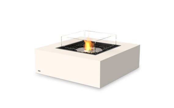 Base 40 Tables extérieure - Ethanol / Bone / Optional Fire Screen by EcoSmart Fire