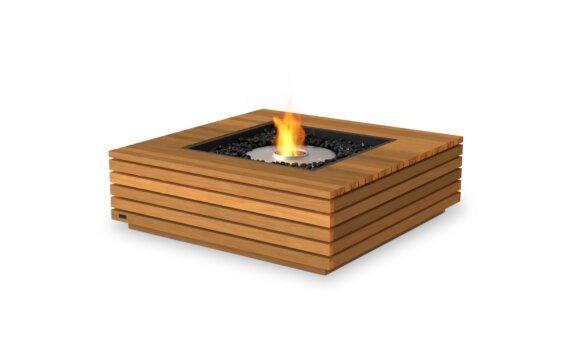 Base 40 Tables extérieure - Ethanol / Teak by EcoSmart Fire