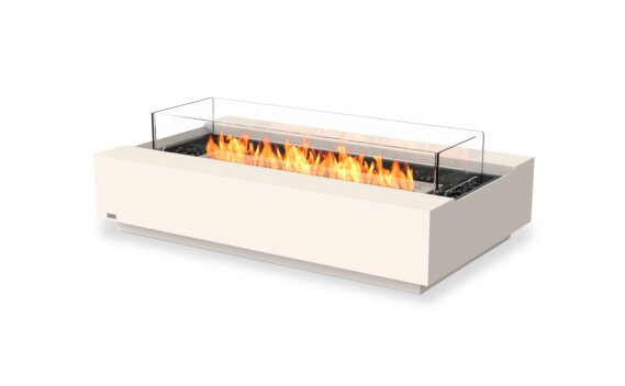 Cosmo 50 Tables extérieure - Ethanol / Bone / Optional Fire Screen by EcoSmart Fire