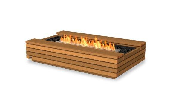 Cosmo 50 Tables extérieure - Ethanol / Teak by EcoSmart Fire