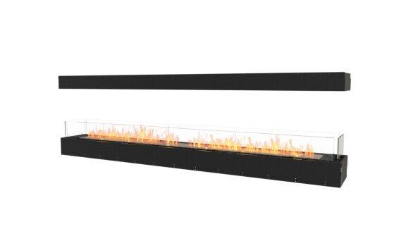 Flex 104IL Island - Ethanol / Black / Uninstalled View by EcoSmart Fire