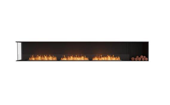 Flex 140LC.BXR Angle gauche - Ethanol / Black / Installed View by EcoSmart Fire