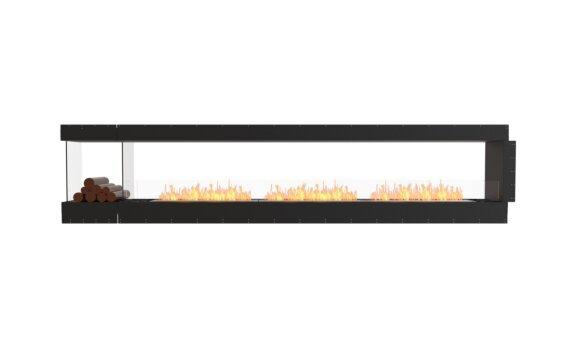 Flex 140PN.BXL Péninsule (trois faces) - Ethanol / Black / Uninstalled View by EcoSmart Fire