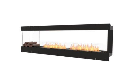Flex 104PN.BXL Péninsule (trois faces) - Ethanol / Black / Uninstalled View by EcoSmart Fire