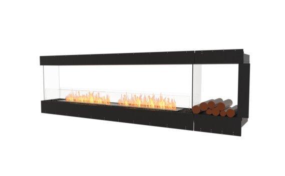 Flex 104PN.BXR Péninsule (trois faces) - Ethanol / Black / Uninstalled View by EcoSmart Fire