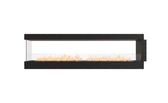 Flex 104PN Péninsule (trois faces) - Ethanol / Black / Uninstalled View by EcoSmart Fire