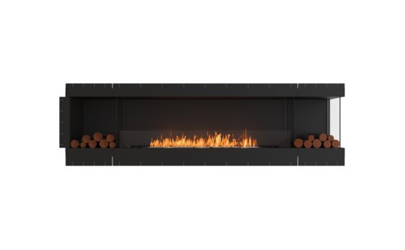 Flex 104RC.BX2 Angle droit - Ethanol / Black / Uninstalled View by EcoSmart Fire