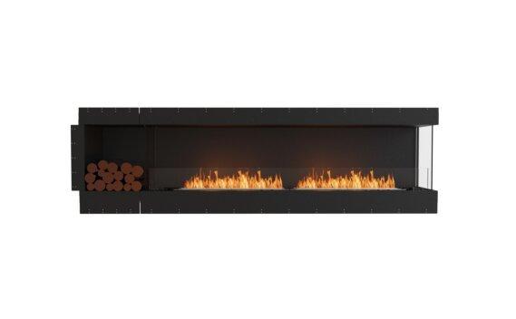 Flex 104RC.BXL Angle droit - Ethanol / Black / Uninstalled View by EcoSmart Fire