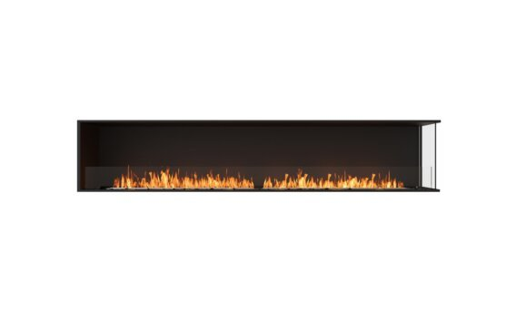 Flex 104RC Angle droit - Ethanol / Black / Installed View by EcoSmart Fire