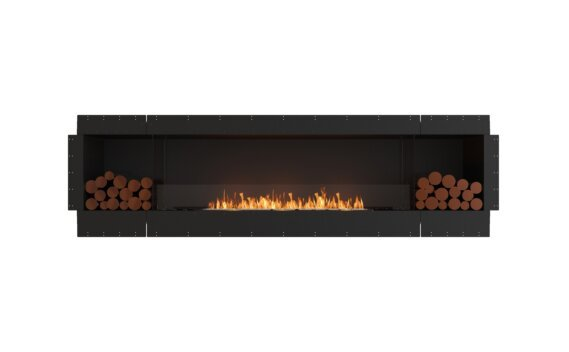 Flex 104SS.BX2 Simple face - Ethanol / Black / Uninstalled View by EcoSmart Fire
