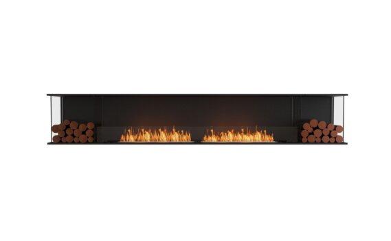 Flex 122 - Ethanol / Black / Installed View by EcoSmart Fire