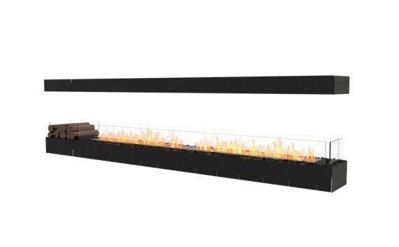 Flex 122IL.BX1 Island - Ethanol / Black / Uninstalled View by EcoSmart Fire