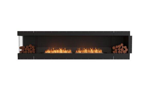 Flex 122LC.BX2 Angle gauche - Ethanol / Black / Uninstalled View by EcoSmart Fire
