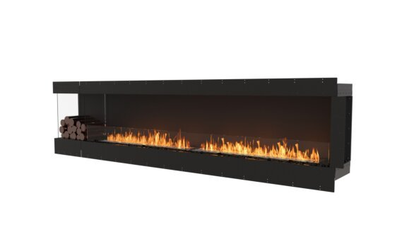 Flex 122LC.BXL Angle gauche - Ethanol / Black / Uninstalled View by EcoSmart Fire