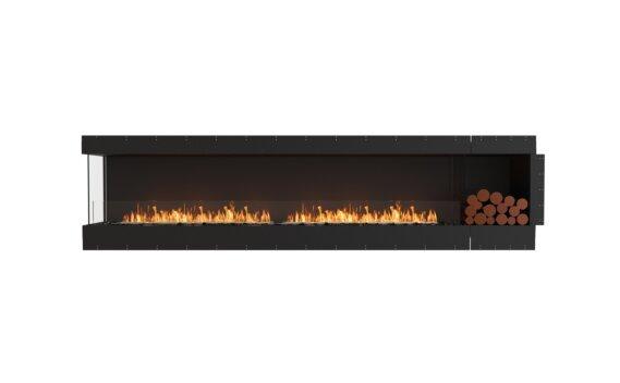 Flex 122LC.BXR Angle gauche - Ethanol / Black / Uninstalled View by EcoSmart Fire