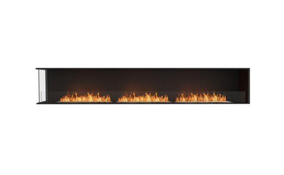Flex 122LC Angle gauche - Ethanol / Black / Installed View by EcoSmart Fire