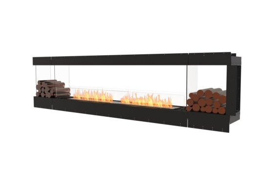 Flex 122PN.BX2 Péninsule (trois faces) - Ethanol / Black / Uninstalled View by EcoSmart Fire