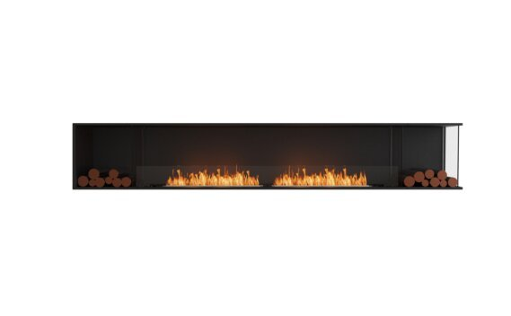 Flex 122RC.BX2 Angle droit - Ethanol / Black / Installed View by EcoSmart Fire