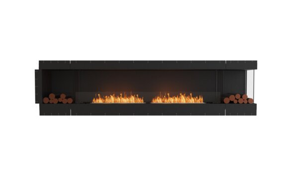 Flex 122RC.BX2 Angle droit - Ethanol / Black / Uninstalled View by EcoSmart Fire