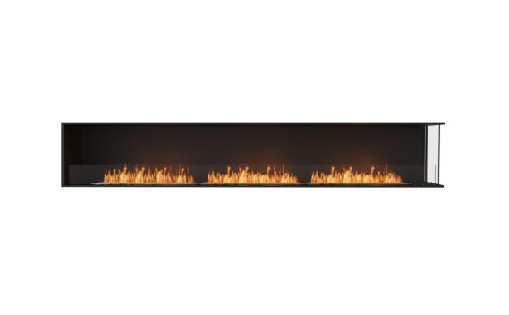 Flex 122RC Angle droit - Ethanol / Black / Installed View by EcoSmart Fire