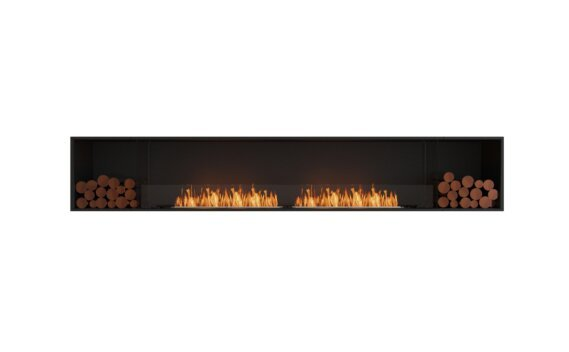 Flex 122SS.BX2 Simple face - Ethanol / Black / Installed View by EcoSmart Fire