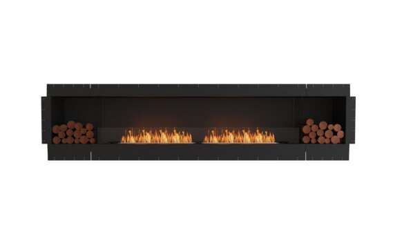 Flex 122SS.BX2 Simple face - Ethanol / Black / Uninstalled View by EcoSmart Fire