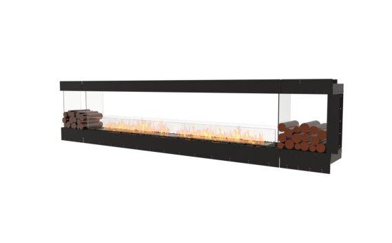 Flex 140PN.BX2 Péninsule (trois faces) - Ethanol / Black / Uninstalled View by EcoSmart Fire